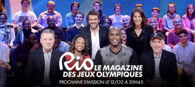 rio : le magazine des jeux olympiques